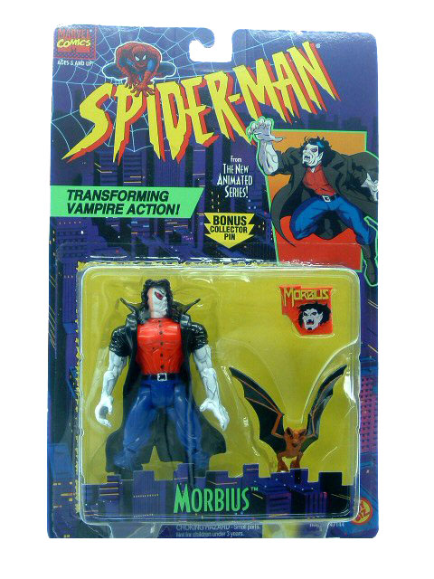 Spider-Man Animated Series Morbius Sealed