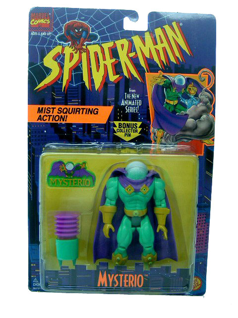 Spider-Man Animated Series Mysterio Sealed
