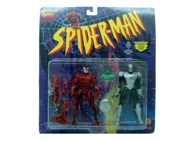 Spider-Man Animated Series Carnage & Spider-Man Web Armor Sealed