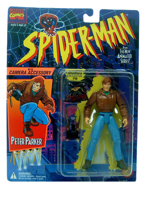 Spider-Man Animated Series Peter Parker Sealed