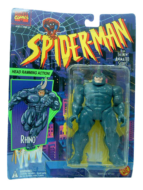 Spider-Man Animated Series Rhino Sealed