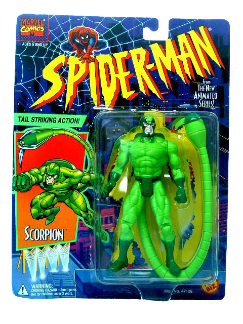 Spider-Man Animated Series Scorpion Sealed
