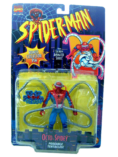 Spider-Man Animated Series Spider-Man Octo-Spidey Sealed