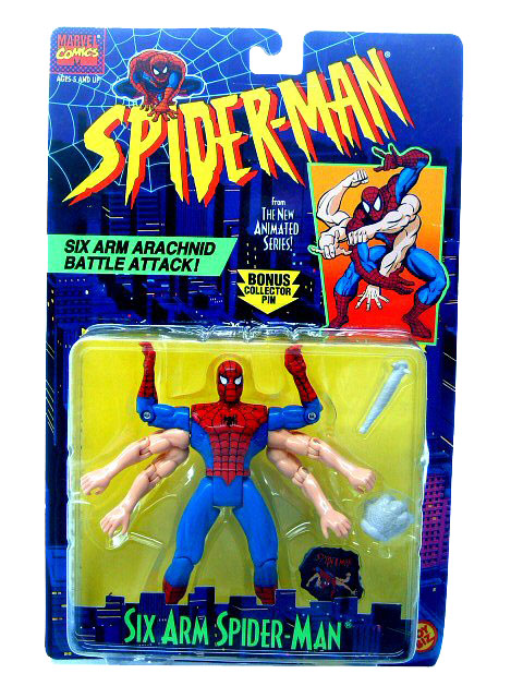 Spider-Man Animated Series Spider-Man Six Arm Sealed