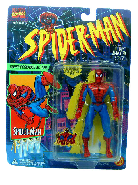 Spider-Man Animated Series Spider-Man Super Poseable Sealed