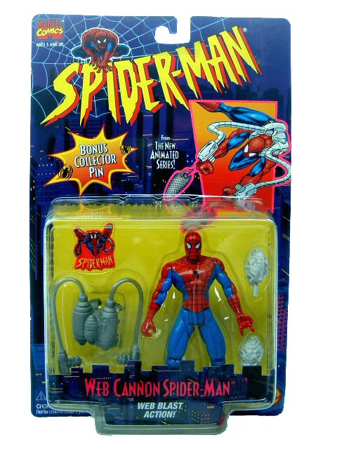 Spider-Man Animated Series Chameleon Sealed
