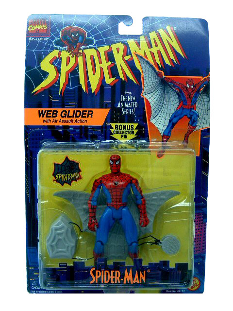 Spider-Man Animated Series Spider-Man Web Glider Sealed