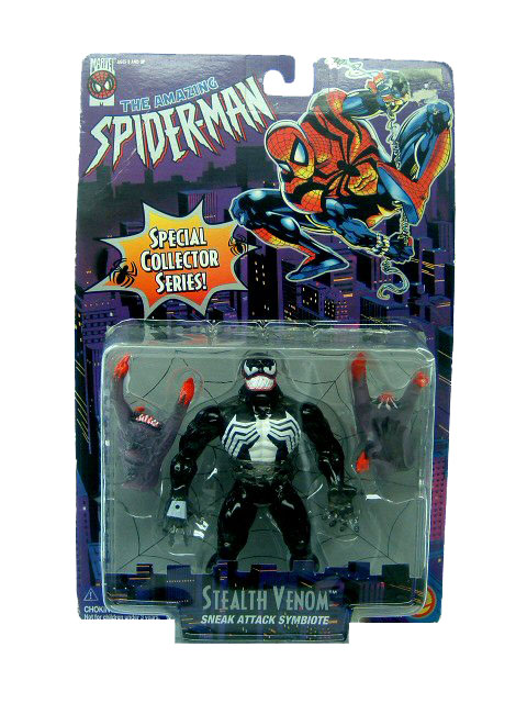 Spider-Man Animated Series Stealth Venom Sealed
