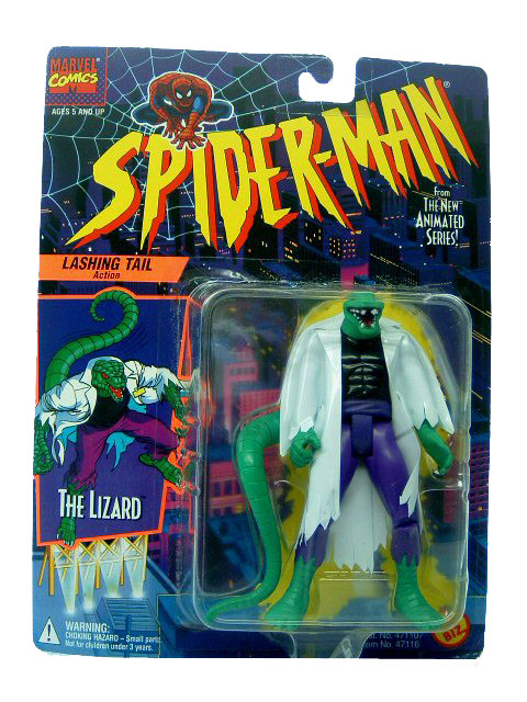 Spider-Man Animated Series Lizard Sealed