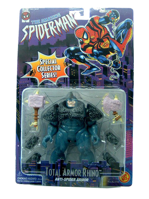 Spider-Man Animated Series Total Armor Rhino Sealed