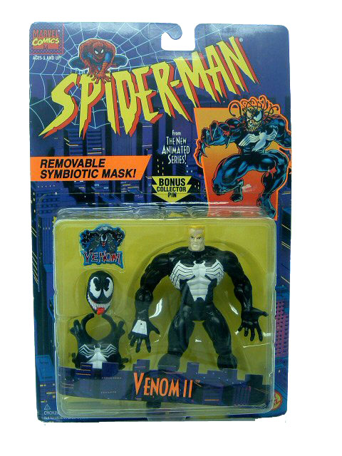 Spider-Man Animated Series Venom II Sealed