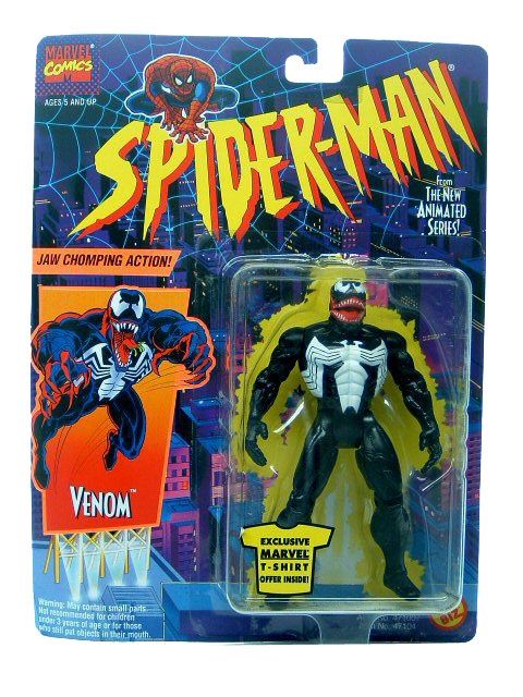 Spider-Man Animated Series Venom Sealed