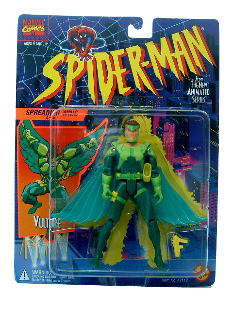 Spider-Man Animated Series Vulture Sealed