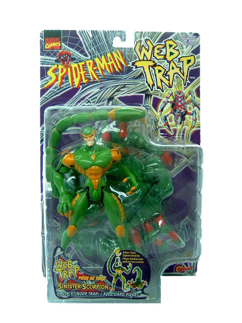 Spider-Man Animated Series Web Trap Sinister Scorpion Sealed