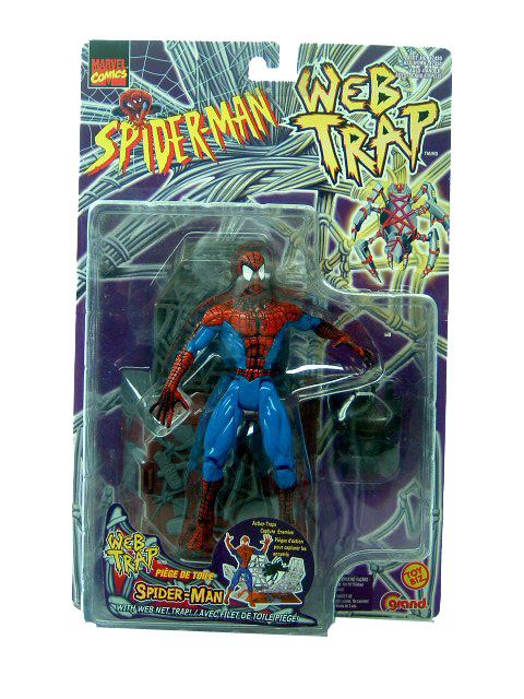 Spider-Man Animated Series Web Trap Sinister Spider-Man Sealed