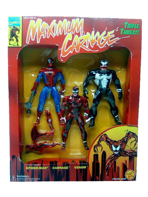 Spider-Man Maximum Carnage 3 Pack Sealed