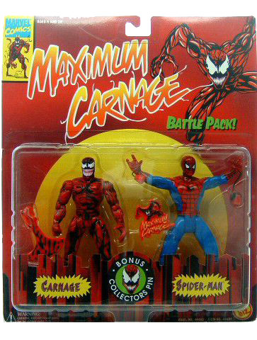 Spider-Man Maximum Carnage 2 Pack Sealed