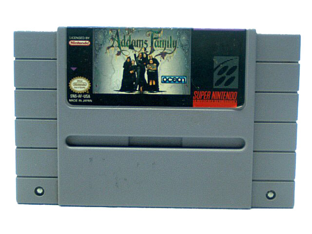SNES Addams Family - 1992