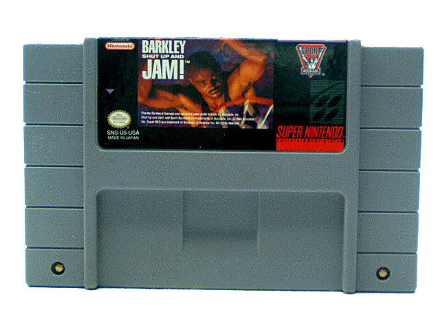 SNES Barkley: Shut Up and Jam! - 1994
