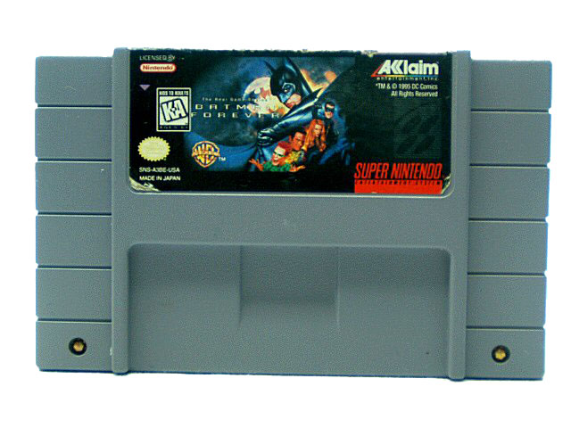 SNES Batman Forever - 1995
