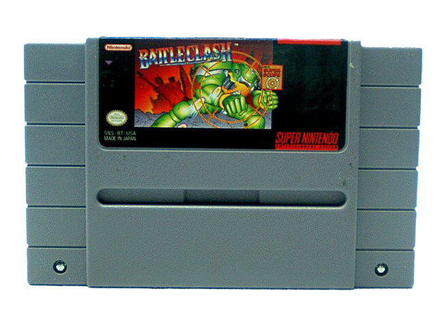 SNES Battle Clash - 1992