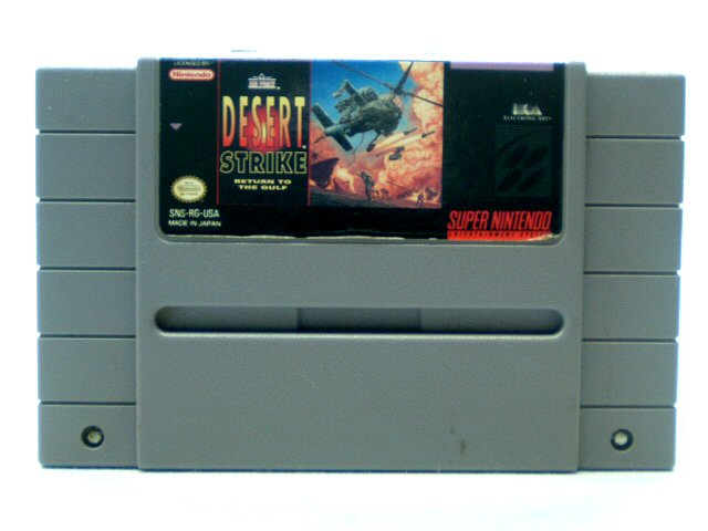 SNES Desert Strike: Return to the Gulf - 1992