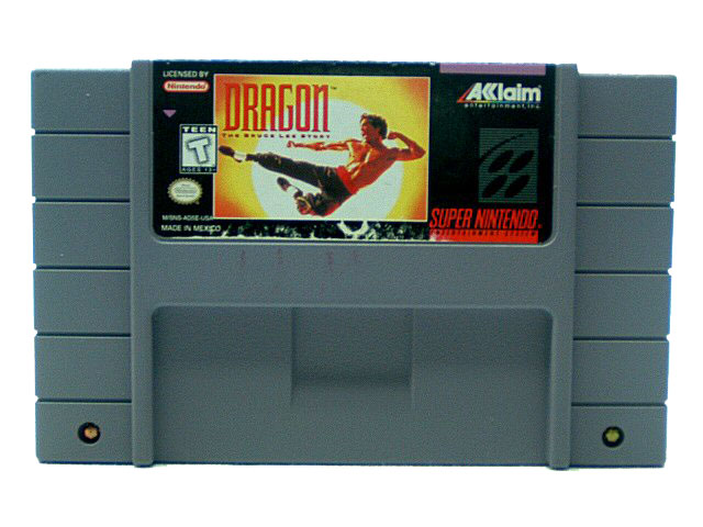 SNES Dragon: The Bruce Lee Story - 1995