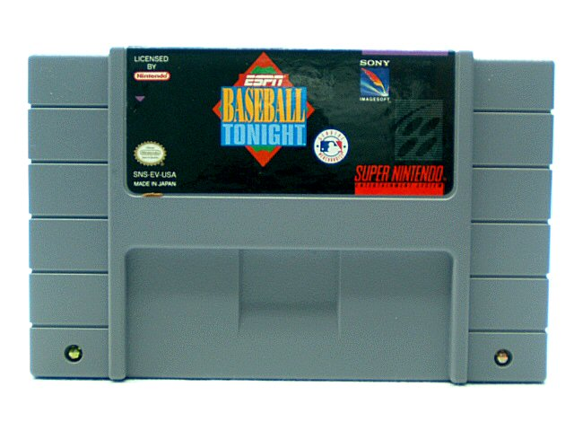 SNES ESPN Baseball Tonight - 1994