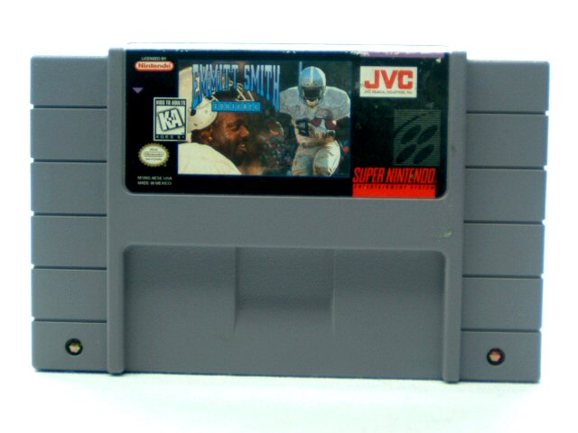 SNES Emmit Smith Football - 1995