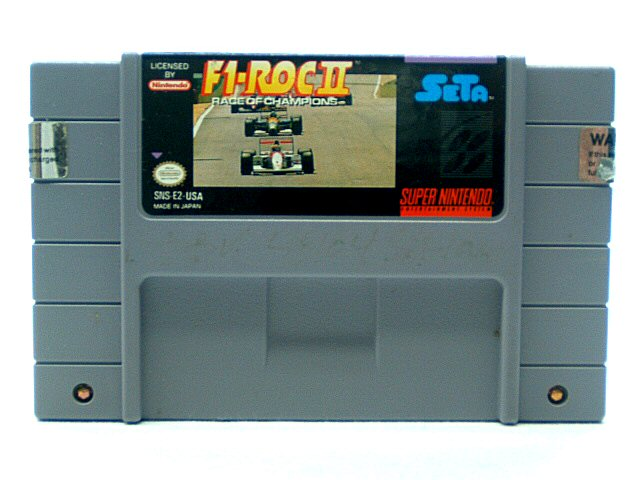 SNES F-1 Roc II: Race of Champions - 1994
