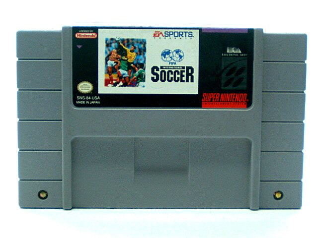 SNES FIFA International Soccer - 1994