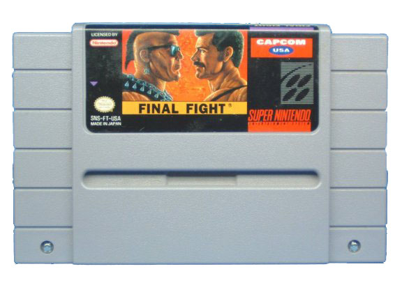 SNES Final Fight - 1991