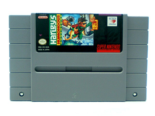 SNES Harleys Humongous Adventure - 1994