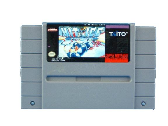 SNES Hit the Ice - 1992