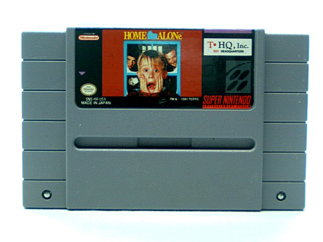 SNES Home Alone - 1991