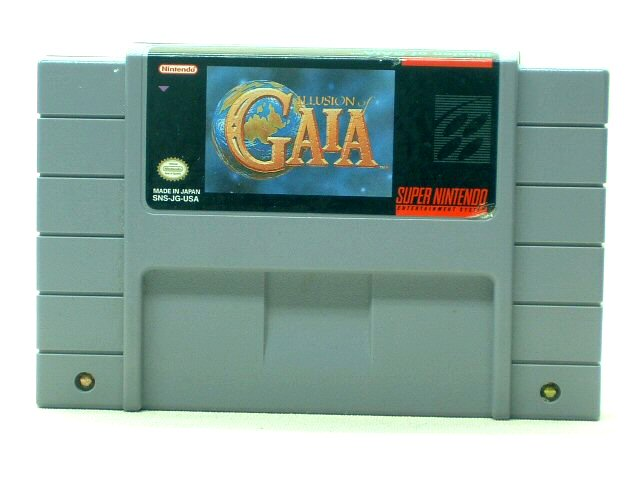 SNES Illusion of Gaia - 1994