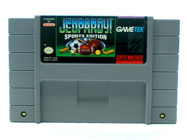 SNES Jeopardy! Sports Edition - 1993