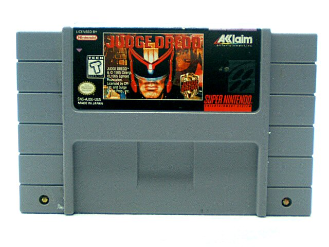 SNES Judge Dredd - 1995