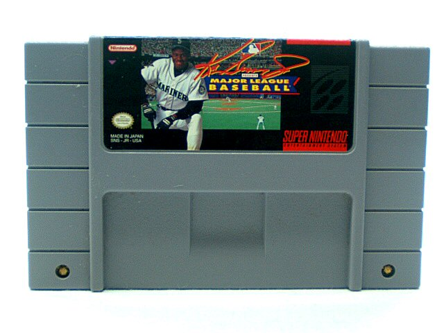 SNES Ken Griffey Jr. Presents Major League Baseball - 1994
