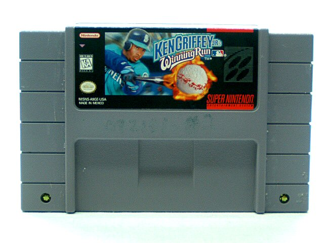 SNES Ken Griffey Jr.'s Winning Run - 1996