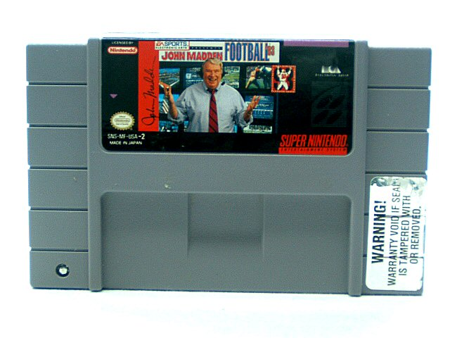 SNES John Madden Football '93 - 1992