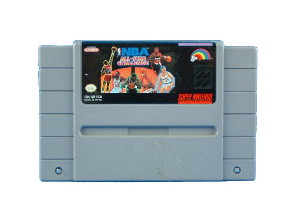 SNES NBA All-Star Challenge - 1992