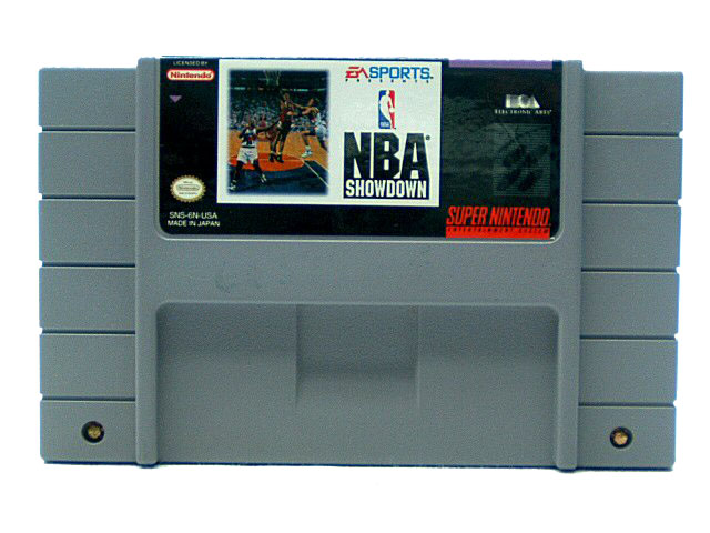 SNES NBA Showdown - 1993