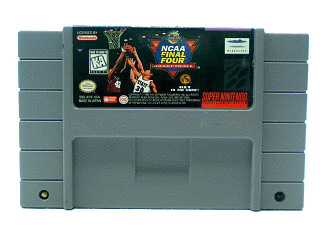 SNES NCAA Final Four Basketball - 1994