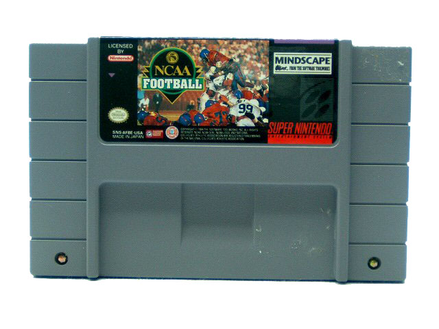 SNES NCAA Football - 1994