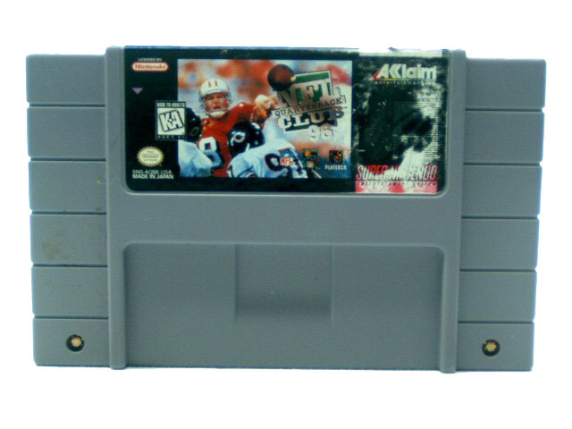 SNES NFL Quarterback Club '96 - 1995