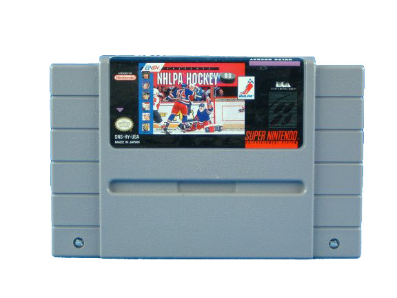 SNES NHLPA Hockey '93 - 1992