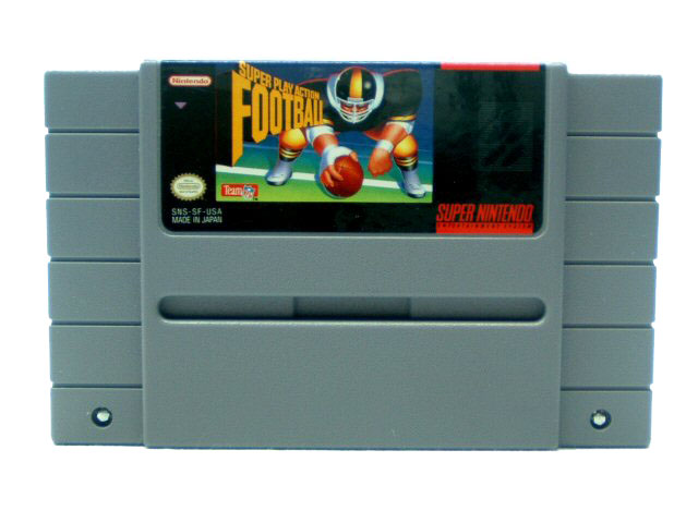 SNES Super Play Action Football - 1992