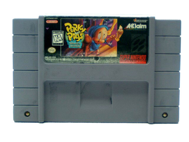 SNES Porky Pig's Haunted Holiday - 1995