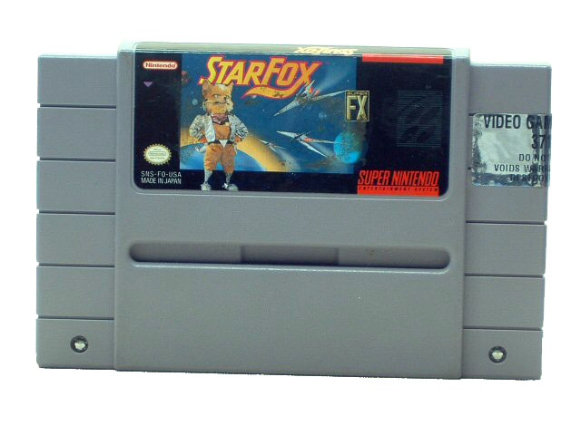 SNES Star Fox - 1993